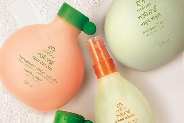 Shampoo & Acondicionador Natura.