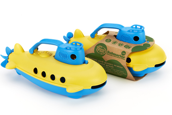 Submarinos de Green Toys disponibles en Bebé Urbano.