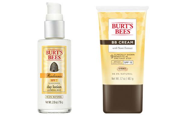 Burt's Bees combina la protección solar y la belleza, con estos dos productos: una loción facial para el día con SPF 15 y su nueva BB CREAM con extracto de Noni y factor 15.