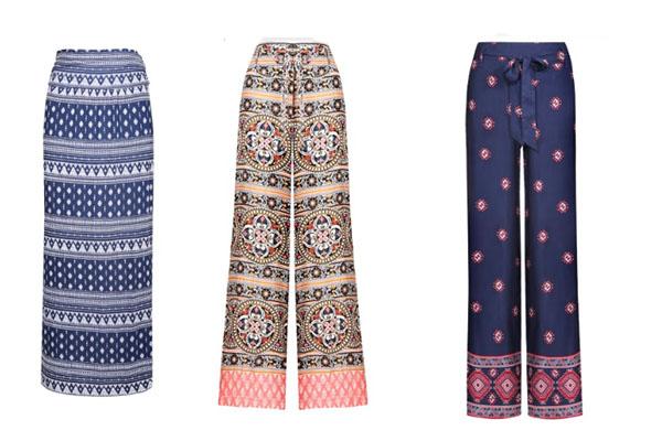 Falda y pantalones Greenfield disponibles en Tiendas Paris.