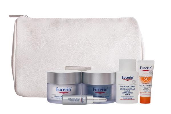 Pack Eucerin Hyaluron Filler para piel seca.