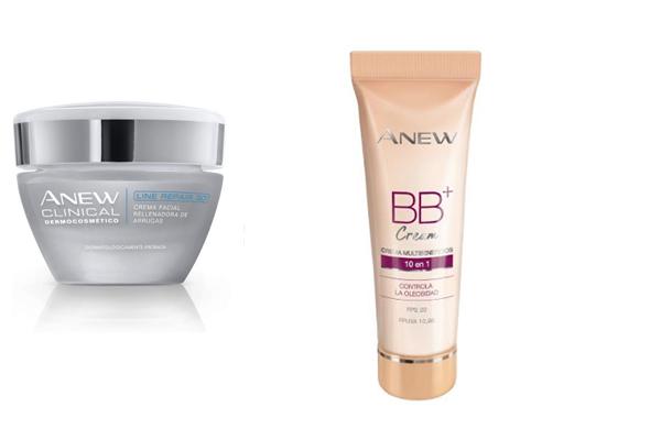 Crema facial Anew y Anew BB+ Cream
