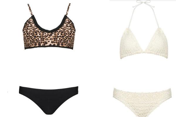 Bikinis Opposite disponibles en Tiendas Paris.