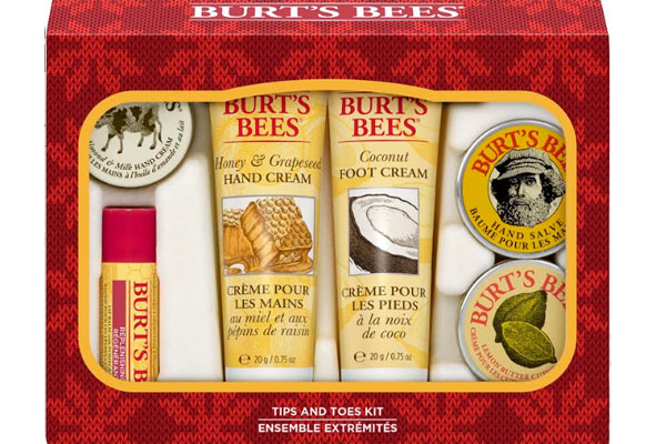 Kit Burt's Bees Tips and toes.