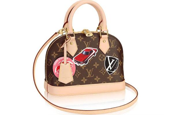 Cartera de la nueva colección de Louis Vuitton: World Tour Collection.