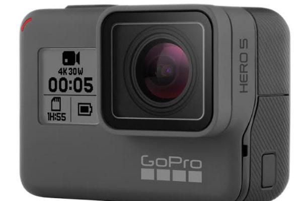GoPro Hero5 Black, una nueva cámara deportiva que incluye mejoras en diseño, calidad y estabilización de la imagen, ergonomía y funciones.