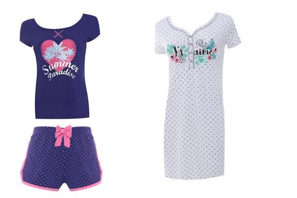 Pijama Flores.