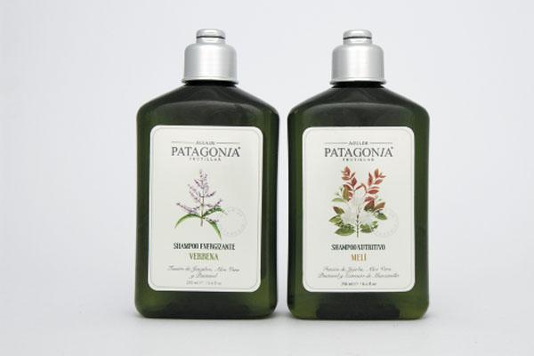 Shampoo y acondicionador Energizante Patagonia.