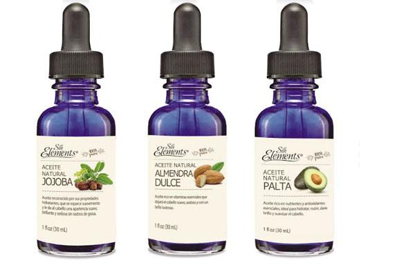 Silk Elements es una línea de tres aceites naturales 100% puros ha sido creada con un rico complejo de ingredientes naturales formulados especialmente para entregar una propuesta de cuidado que se puede aplicar en todo tipo de cabellos.
