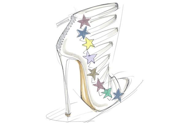 Este zapato, según la misma cantante representa su esencia.