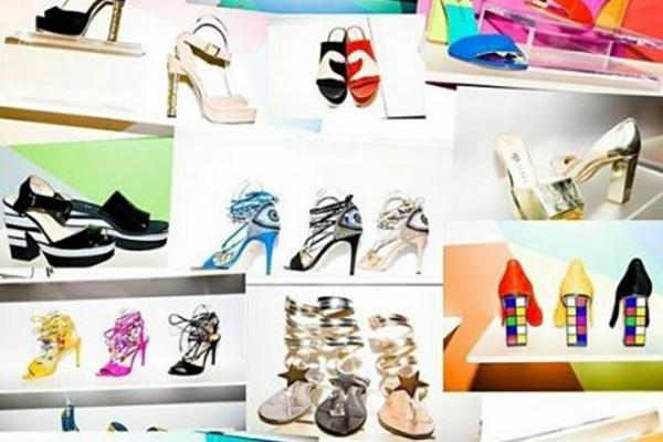 Los zapatos tienen todo el estilo personal y vibra de Katy Perry. Imagen: @katy_love_1854