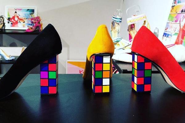 El resultado en la vida real de los tacos simulando el famoso cubo Rubik. Imagen: @dreamycinderella
