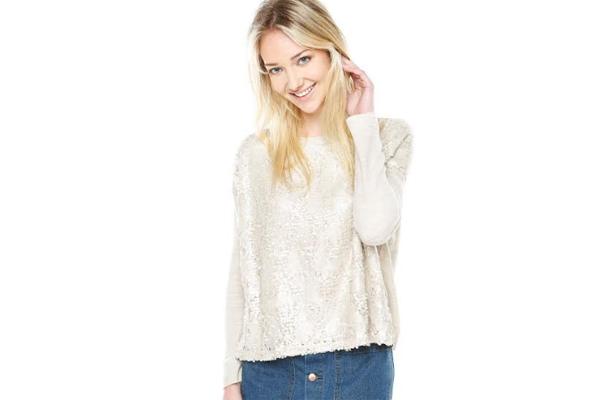 Sweater Lentejuelas, FiveBlue disponible en Dafiti.cl