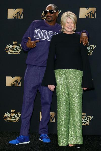 Snoop Dogg y Martha Stewart