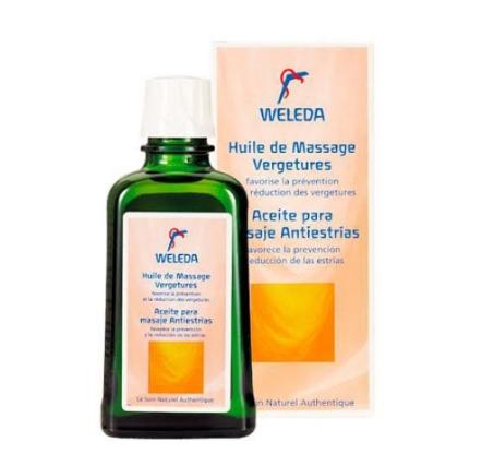 Este aceite de masajes Antiestrías es perfecto para regalonear a una futura mamá.