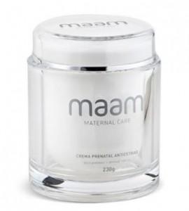 """El secreto contra las estrías. Las cremas Maam son un """"must have"""" de cualquier embarazada. Esto lo convierte en un perfecto regalo."""