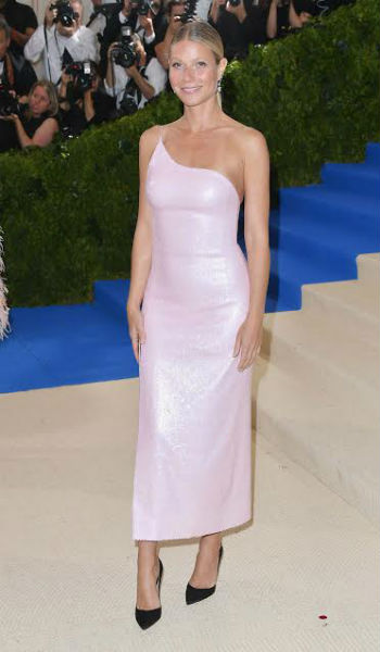 Gwyneth Paltrow en un diseño de Calvin Klein