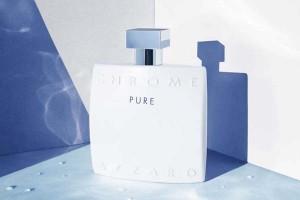 Chrome Pure es una fragancia pura e intensa de Azzaro.