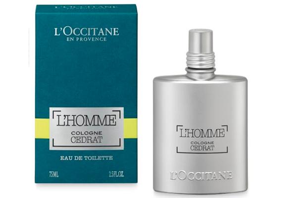 Libre e independiente, L'Homme Cédrat es la esencia de escape, de un horizonte sin fin, la frescura absoluta de la mezcla de pulverización de mar con Cédrat picante.