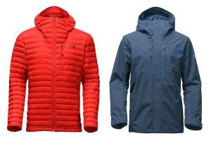 Estas chaquetas North Face protegerán a los papás del frío.