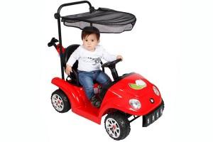 El Carrito de Golf Bebeglo es un entretenido vehículo eléctrico con todos los implementos para jugar, incluye los palos y la pelota. disponible en  www.babypoint.cl