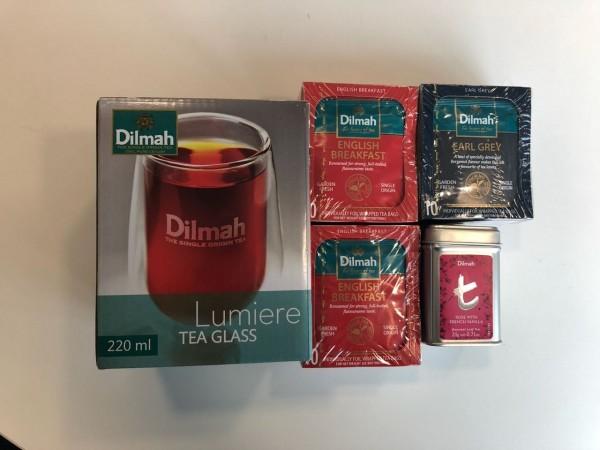 Nunca son suficientes. Por eso, Dilmah quiere que tu papá tenga variedad a la hora del té.
