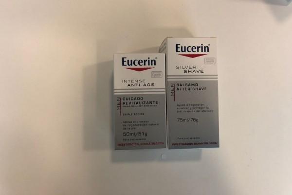 Eucerin cuida la piel de nuestros papás. Y qué mejor que con estos productos.