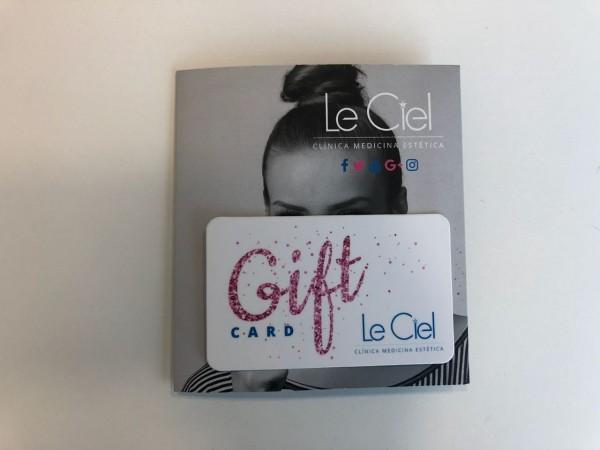 Con esta giftcard, LE CIEL quiere que tu papá se preocupe de su rostro.