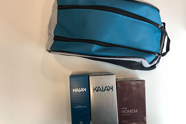 Productos Kaiak Clásico y Homem Potence de Natura.