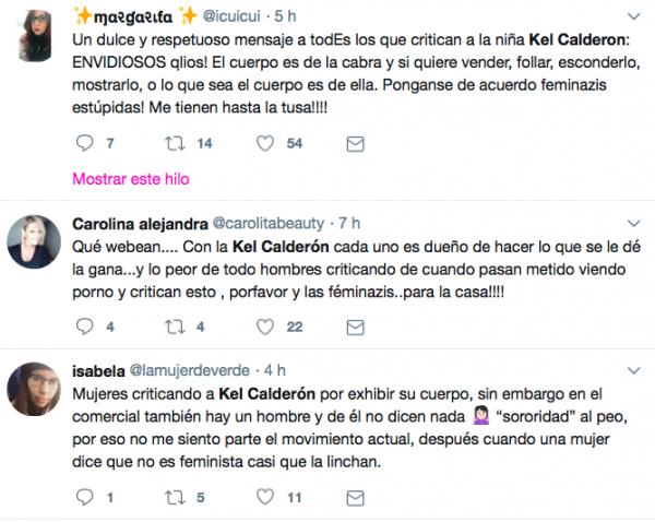 Debate en Twitter por publicidad de Kel Calderon y Bigtime