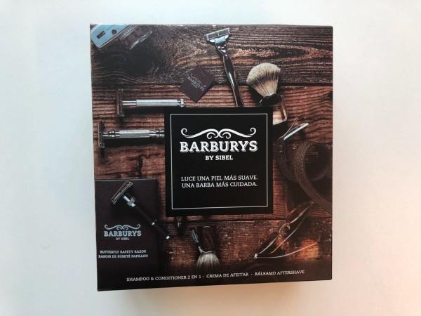 Porque sabemos que muchos hombres nos leen,  incluimos este set de productos Barburys para el mejor afeitado.
