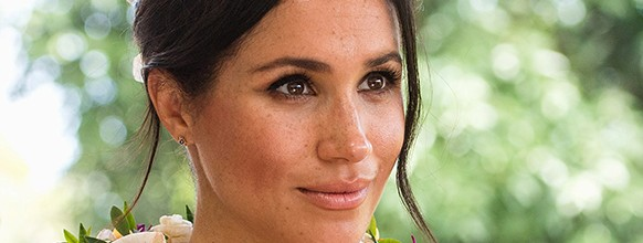 Meghan, Duchess of Sussex, attends a morning tea reception at the British High Commissioner's Residence on October 24, 2018 in Suva, Fiji. Samir Hussein/Pool via REUTERS *** Local Caption *** Meghan; Duchess of Sussex BRITAIN-ROYALS/FIJI
