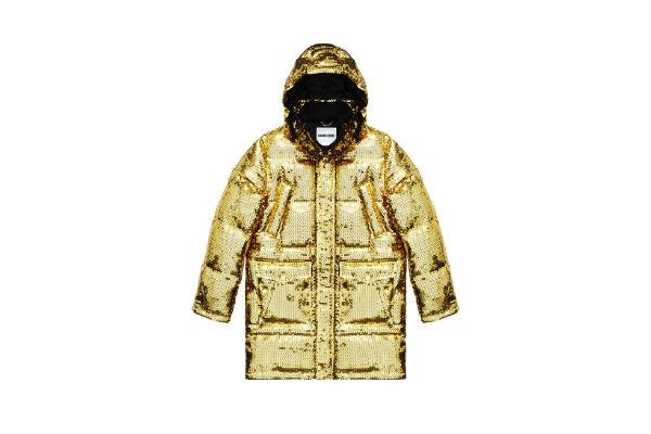 Esta chaqueta es perfecta para llamar la atención en invierno.