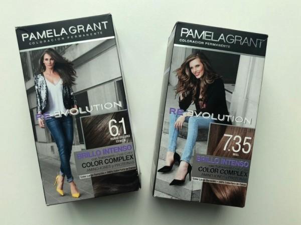 Estas tinturas Pamela Grant ofrecen brillo y color intenso.