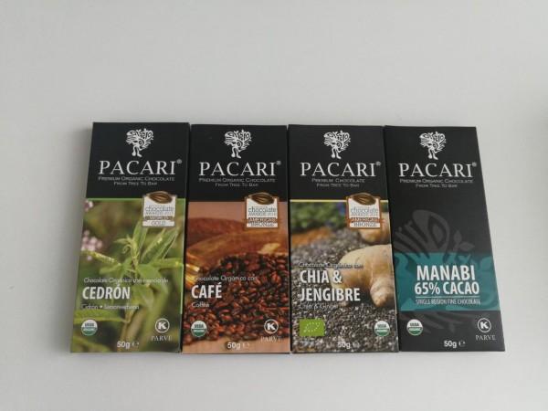 Estas cuatro barras de fino chocolate PACARI, obtuvieron una serie de premios en la final mundial de los International Chocolate Awards 2018. Esto los convierte sin duda en un muy buen regalo navideño.