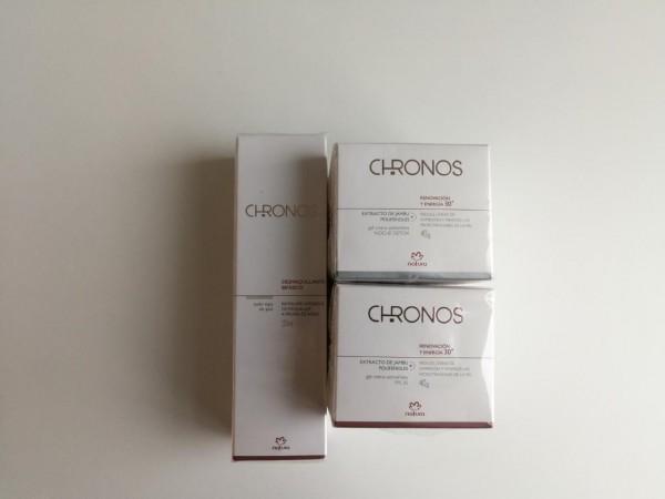 Estas cremas para el rostro de la línea Chronos de Natura, son un regalo que siempre será muy bienvenido.