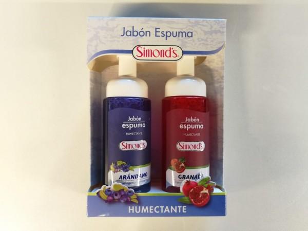 Estos jabónes espumas de Simonds dejarán tu piel limpia y perfumada.