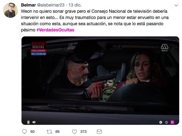 Imagen: comentarios en Twitter bajo el hashtag #VerdadesOcultas