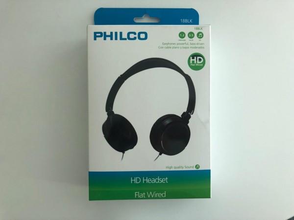 Estos audífonos Philco prometen el mejor sonido para momentos de concentración.