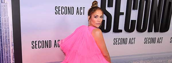 "NEW YORK, NY - DECEMBER 12: Jennifer Lopez attends the world premiere of ""Second Act"" at Regal Union Square Theatre, Stadium 14 on December 12, 2018 in New York City.   Nicholas Hunt/Getty Images/AFP  == FOR NEWSPAPERS, INTERNET, TELCOS & TELEVISION USE ONLY ==   US-""SECOND-ACT""-WORLD-PREMIERE"