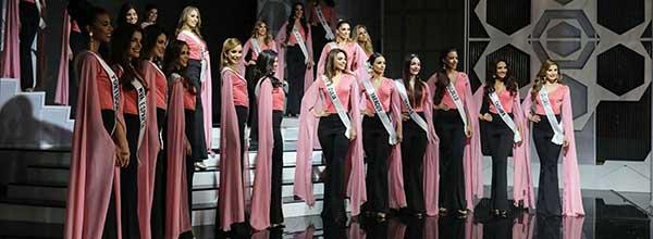 Ensayos de Miss Venezuela, en Caracas