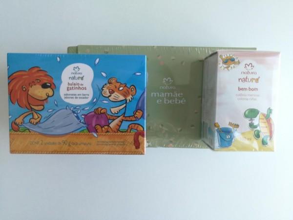 Con estos productos de baño y cuidado personal de Natura, la piel de los niños quedará suave y perfumada.