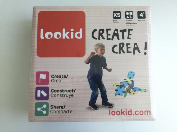 """Lookid Bajo el lema """"Aprender jugando"""", permite a los niños desarrollar sus habilidades creativas. Donde todos se pueden divertir creando, de una manera entretenida y dinámica. Además es amigable con el medio ambiente."""