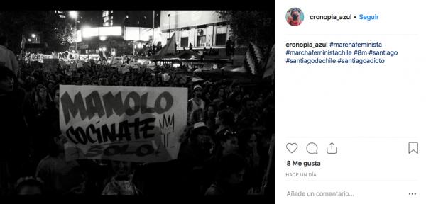 Imagen capturada en Instagram