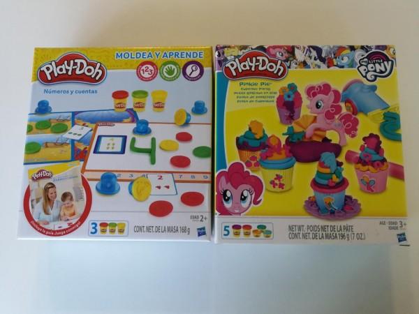 Este set de coloridas masas Play Doh, estimulan el aprendizaje de los niños de forma entretenida y muy didáctica.