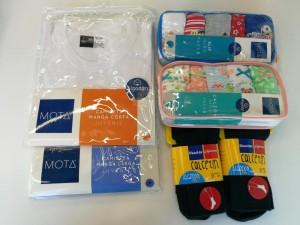 Este set de calcetines de Caffarena y ropa interior de Mota, son prefectos para dar inicio al periodo escolar bien abrigados.