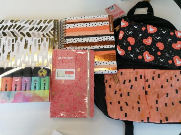 Rhein le da estilo a tu vuelta a la rutina con su completa línea de cuadernos, libretas, carpetas, mochilas y estuches