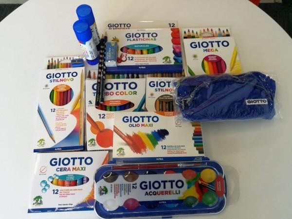 Giotto hace posible que los escolares disfruten de lápices fabricados en maderas de cedro de bosques reforestados, diseñados con los mejores pigmentos, terminación de pintura de base acuosa libre de metales pesados y materiales no tóxicos.