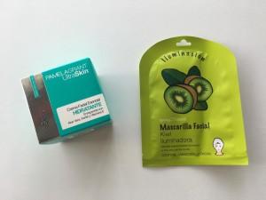 Este set de productos que encuentras en Maicao y que consta de una mascarilla en base a kiwi le devolverá luminosidad a tu piel. Mientras que la crema hidratante es un básico para mantener la piel saludable.