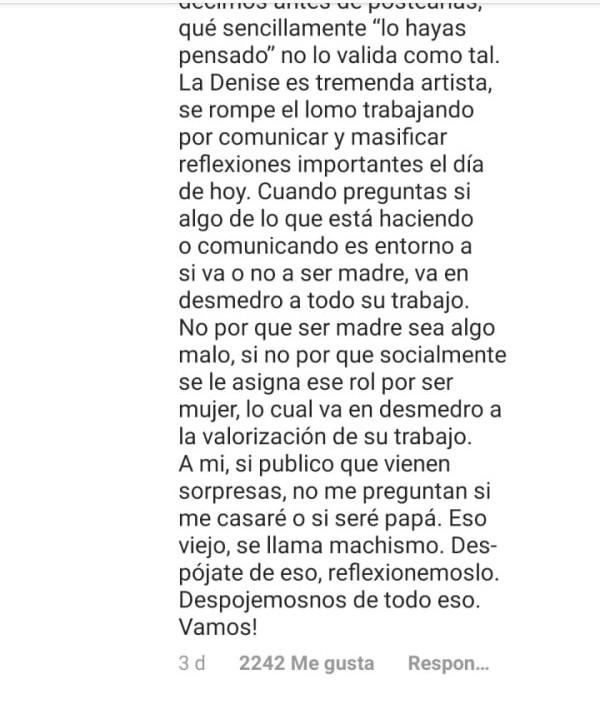 Imagen: Captura Instagram@camilozicavo